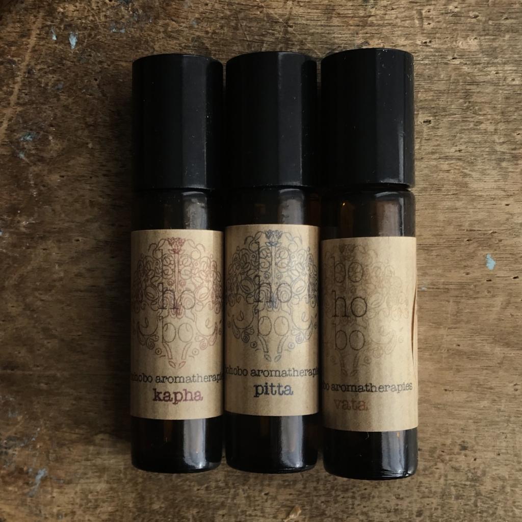 Ayurvedic blends roller set - Bohobo Aromatherapies