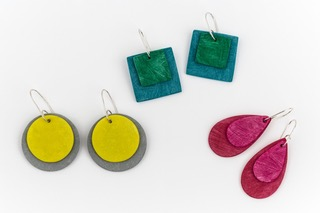 Meet the maker: Clare Lloyd Colour design earrings