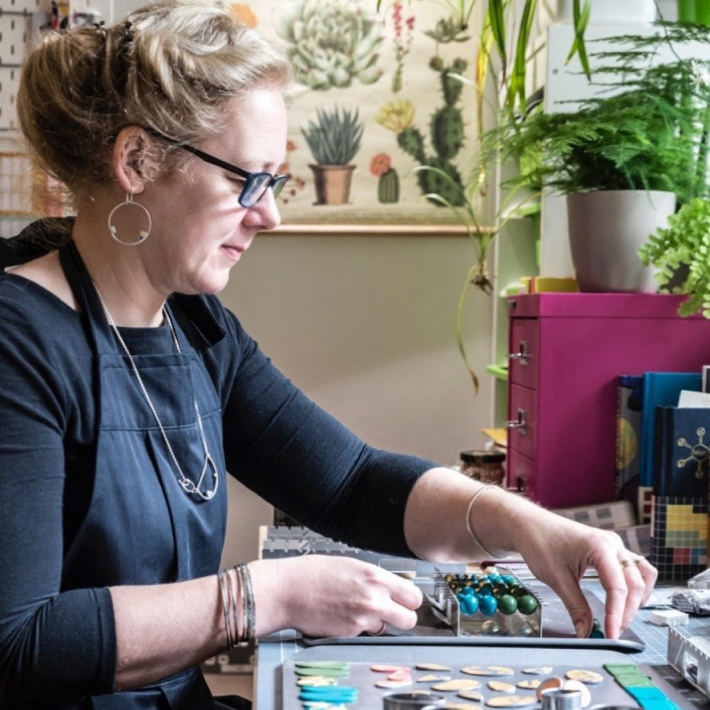Meet the maker: Clare Lloyd, Colour Designs Jewellery design