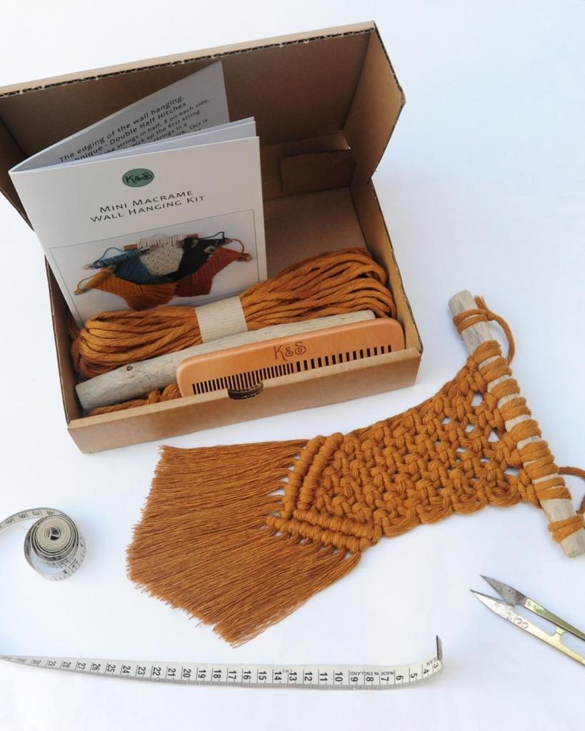 knots and shots macrame crafting kit