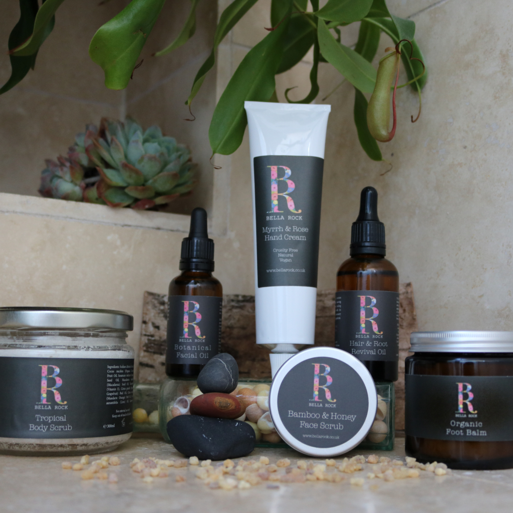 Bella Rocks aromatherapy products