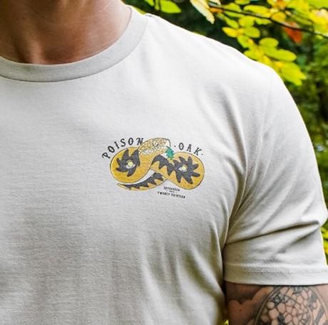 Poison Oak snake t-shirt