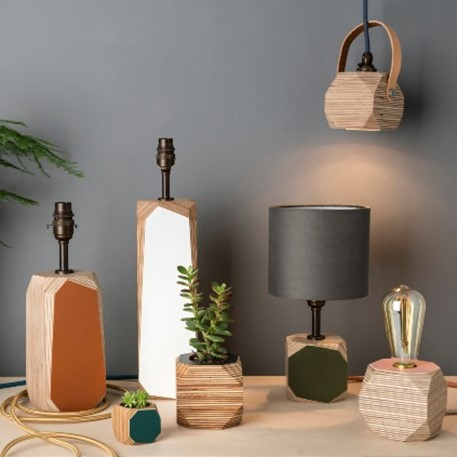 Priormade products - lamp bases and plant pots