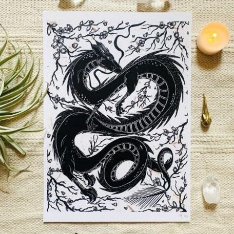 Skyfyre Studio Dragon print