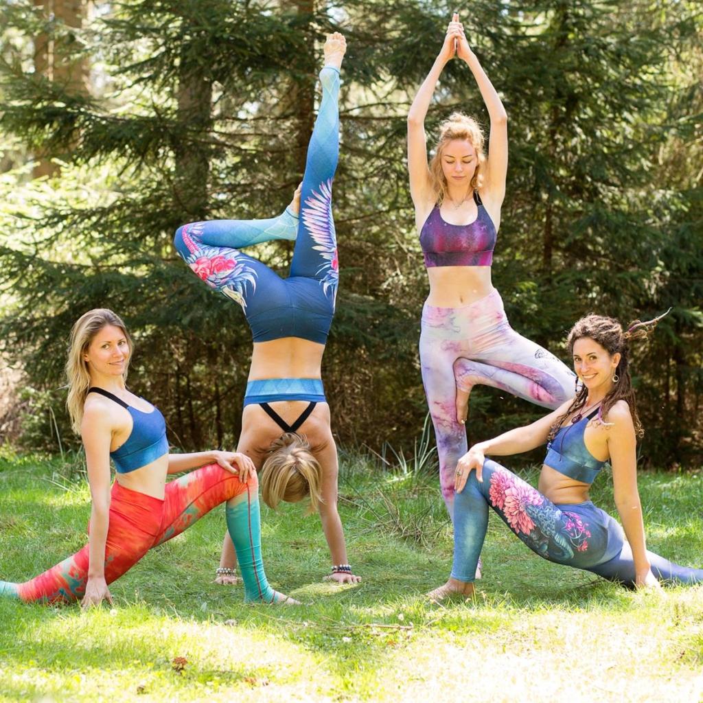 yoga clothing by Yogacycled