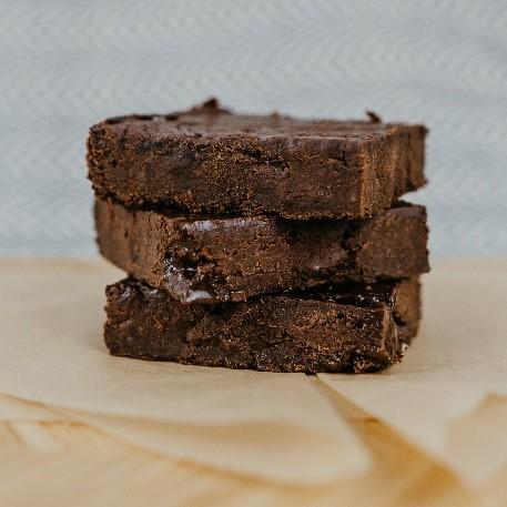 Dark Matters vegan brownies