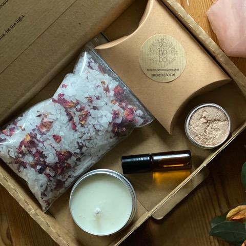 Bohobo Aromatherapies gift set Moonstone