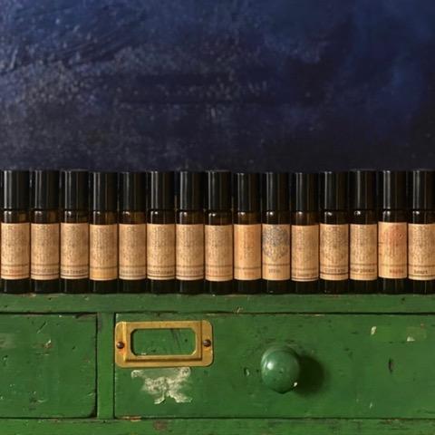 Bohobo Aromatherapies essential oil bottles