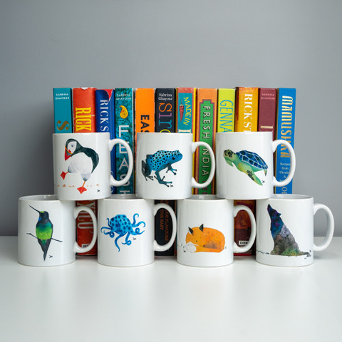 Jem Loves To Draw - illustrated mugs